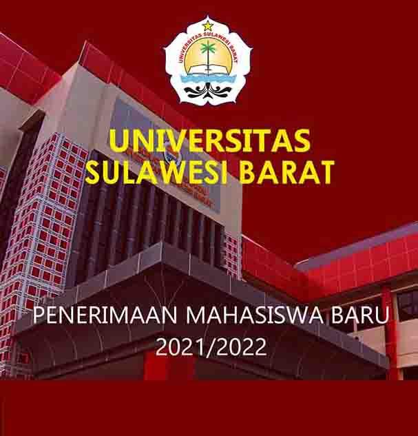 Informasi Penerimaan Mahasiswa Baru UNSULBAR Tahun 2021