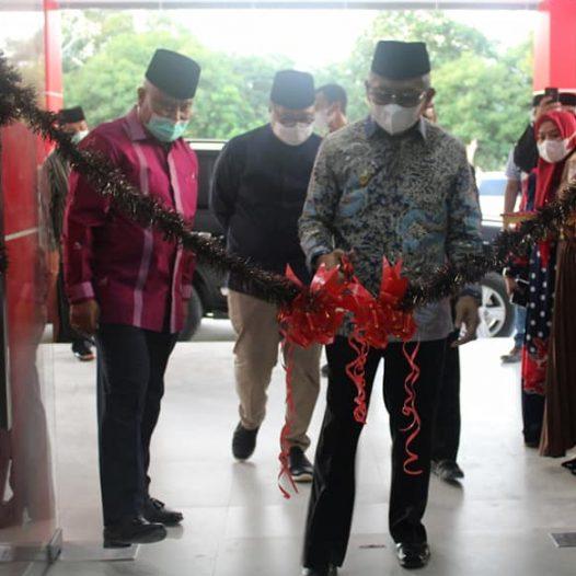 Peresmian Gedung Hibah Pemprov Sulbar dan Gedung Lab. Terpadu Universitas Sulawesi Barat