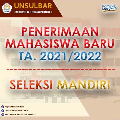 Pendaftaran Jalur Seleksi Mandiri 2021